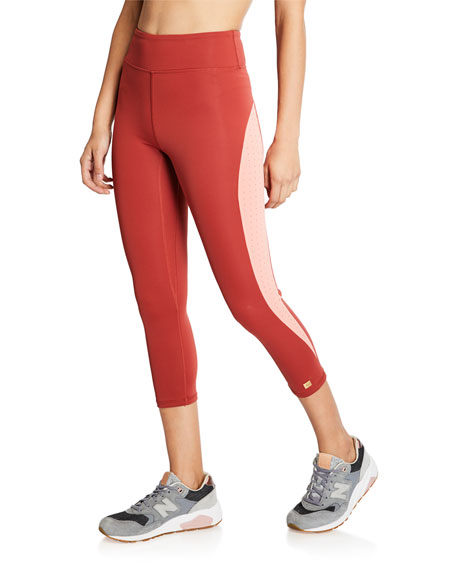 Aurum Pants REJOYCE CROPPED PERFORMANCE LEGGINGS