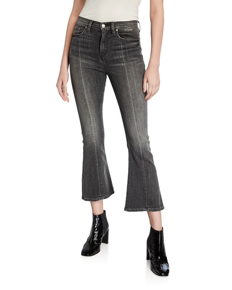 Hudson Jeans HOLLY HIGH-RISE CROP FLARE JEANS