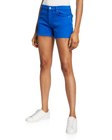 Hudson Shorts Gemma Mid-Rise Cutoff Shorts