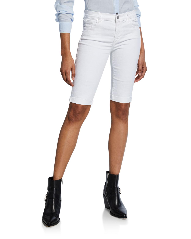 aea1205749 J Brand 811 Rolled Bermuda Shorts | Neiman Marcus