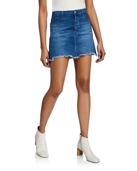 J Brand Skirts BONNY MID-RISE MINI SKIRT
