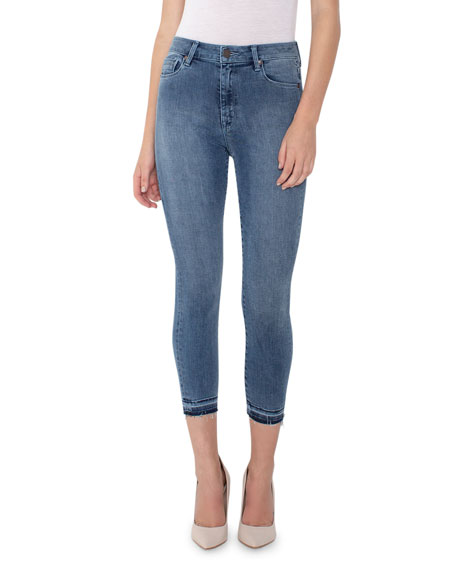 Parker Smith Jeans BOMBSHELL CROP SKINNY JEANS
