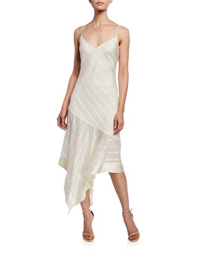 The Becky Striped Slip Dress