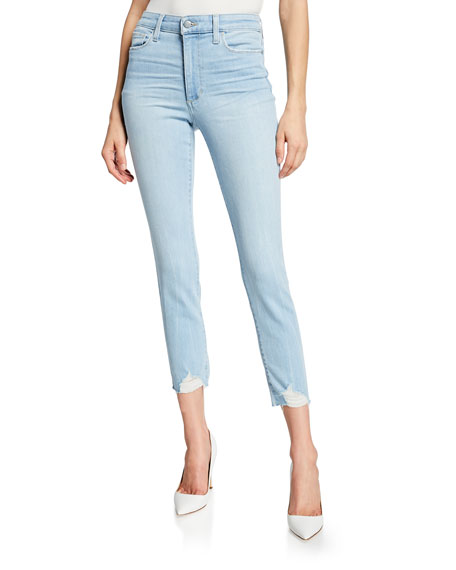 Joe's Jeans Jeans THE CHARLIE CROP SKINNY JEANS WITH DESTROYED HEM