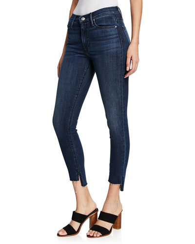 Miranda Wasted Time Off-Step Skinny Ankle Jeans