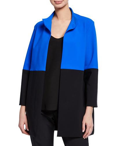 Morwen Colorblock 3/4-Sleeve Jacket