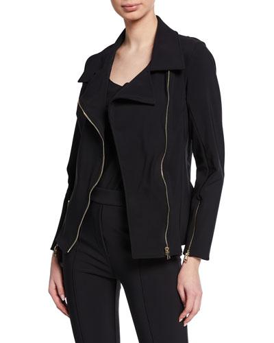 Kiodo Zip-Front Moto Jacket