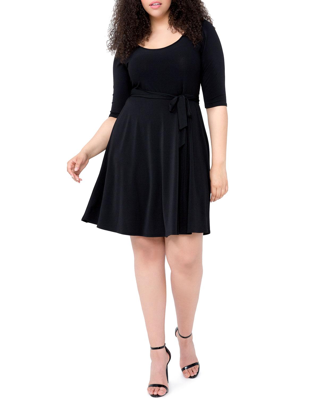 Plus Size Ilana Jersey A-Line Dress