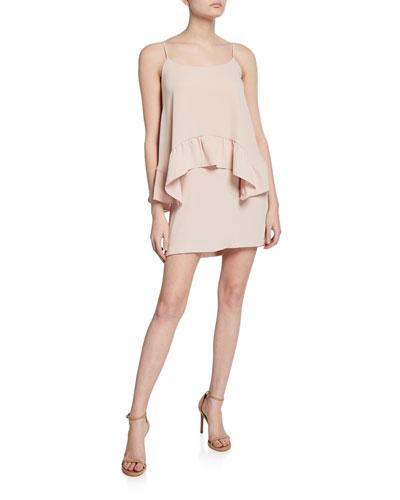 Coretta Draped Sleeveless Dress
