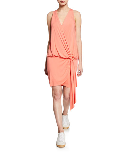 New Dimension Ruched Bodycon Dress