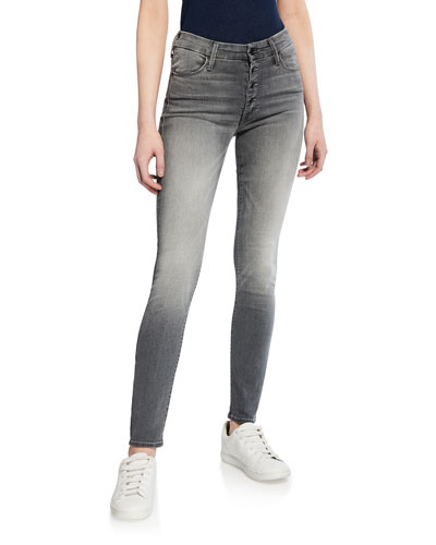 The Pixie Button-Fly Skinny Jeans