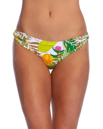 It's Bananas Twist-Side Hipster Bikini Bottom