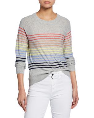 8764598022 Splendid Striped Long-Sleeve Pullover