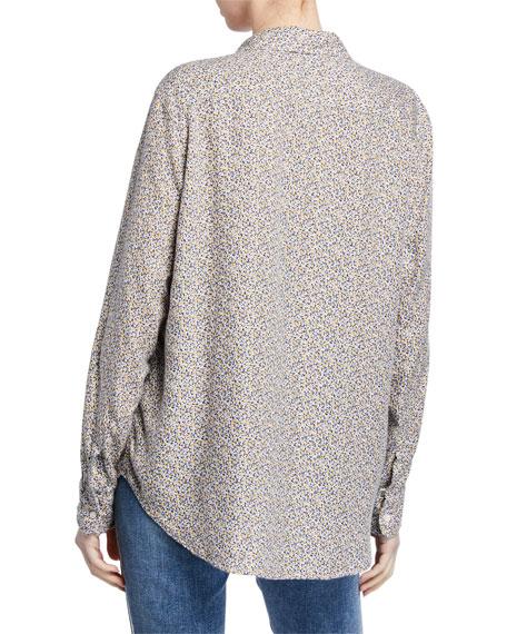 Frank & Eileen Long-Sleeve Floral Button-Down Shirt