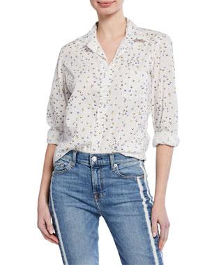 68badb89c8a7a Frank   Eileen Butterfly Long-Sleeve Button-Down Shirt
