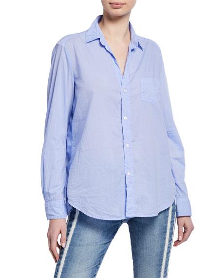 Frank & Eileen Cotton Button-Down Long-Sleeve Shirt, Lavender