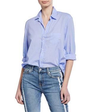 15478d9e8b Frank   Eileen Cotton Button-Down Long-Sleeve Shirt