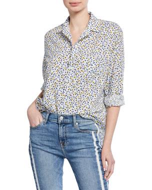 97cd346f Frank & Eileen Long-Sleeve Floral Button-Down Shirt