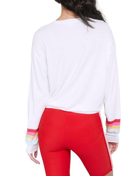 Spiritual Gangster Savasana We Are The Future Crewneck Sweatshirt
