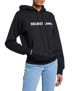 d47294442de Helmut Lang Helmut Laws Graphic Pullover Hoodie