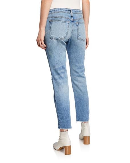Rag & Bone Dre Low-Rise Ankle Slim Boyfriend Jeans