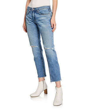 38894ef533b Rag   Bone Dre Low-Rise Ankle Slim Boyfriend Jeans