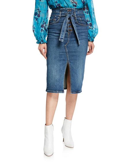 Veronica Beard Skirts DENTON CORSET SKIRT