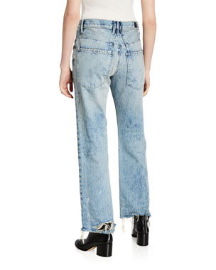 b7c5ae1cd6 Women's Contemporary Straight-Leg Jeans at Neiman Marcus
