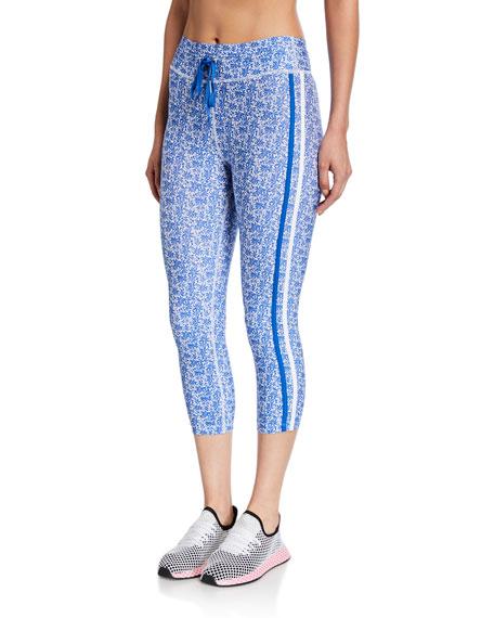 The Upside Pants NYC PRINTED CROPPED LEGGINGS