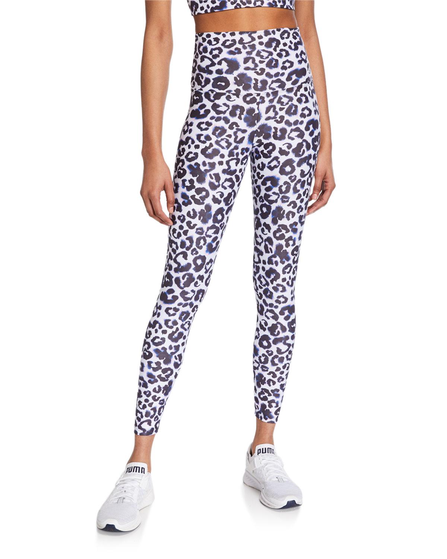 e7fc0df3ea9a Beach Riot Piper High-Waist Leopard-Print Leggings and Matching ...