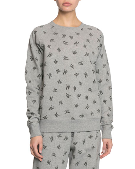 Marc Jacobs The Logo Crewneck Sweatshirt