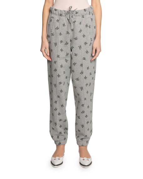 The Marc Jacobs The Logo Drawstring Gym Pants