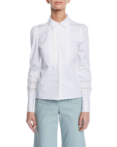 Haskel Pleated-Panel Top
