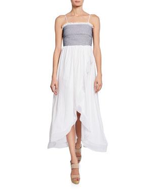 e590d861d36 Ramy Brook Demetra Sleeveless High-Low Dress