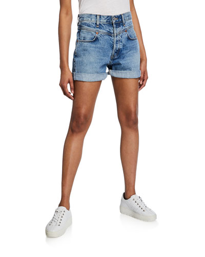 The 90s Double-Yoke Shorts