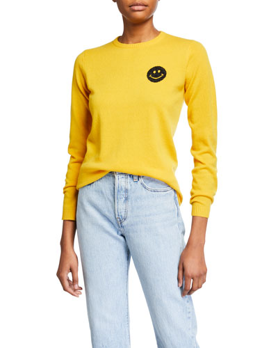 Happy Smiley Face Cashmere Sweater