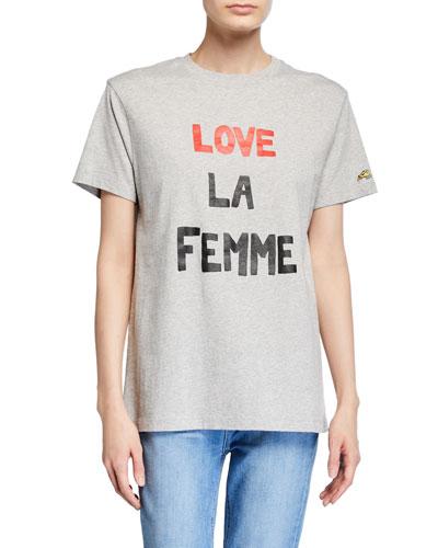 Love La Femme Graphic T-Shirt