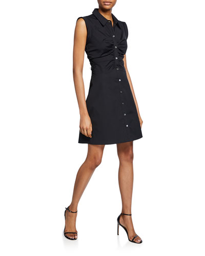 Ferris Sleeveless Shirtdress
