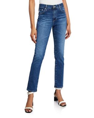 994a557cbf7 AG Adriano Goldschmied Mari High-Rise Straight Jeans