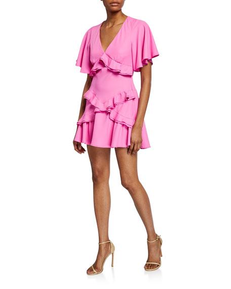 Maggie Marilyn The Jones Short-Sleeve Ruffle Dress