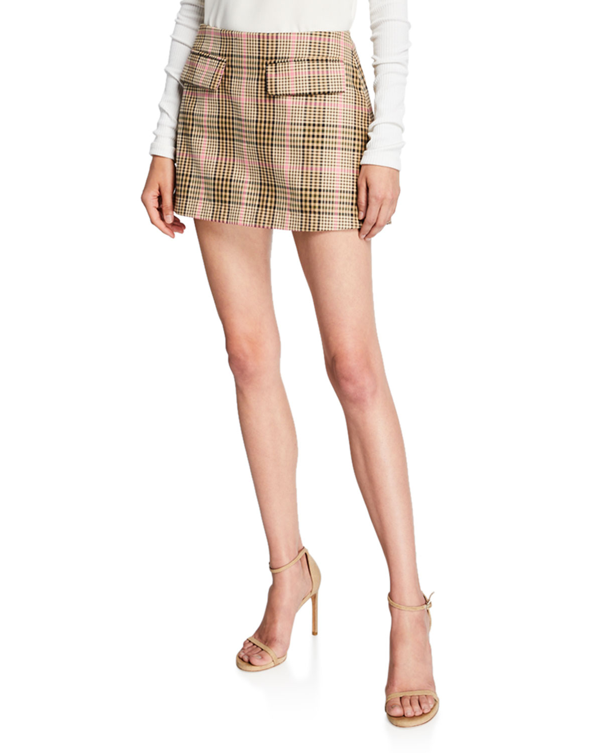 Short And Sweet Check Skirt by Maggie Marilyn