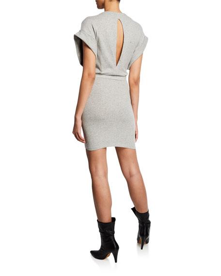 Iro Wynot Gathered Jersey Short Dress