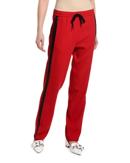 No. 21 Side-Stripe Drawstring Sweatpants