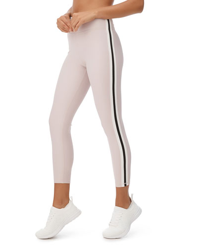 Kyla Side Striped Cropped Leggings