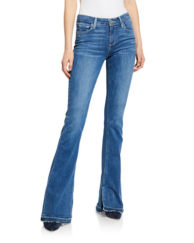 Lou Lou Flare Jeans with Released Hem