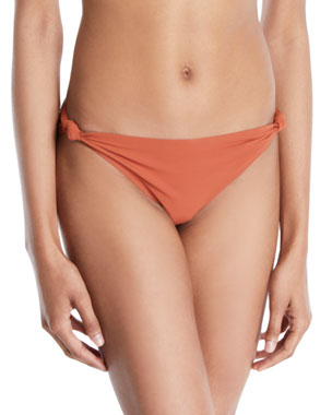 53d926ffd6 Tory Burch Palma Knotted Hipster Bikini Bottoms