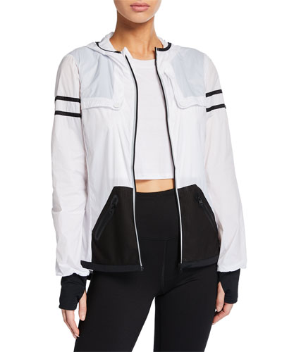 Moonlight Zip-Front Active Jacket