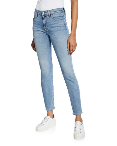 Luxe Vintage High-Waist Skinny Jeans