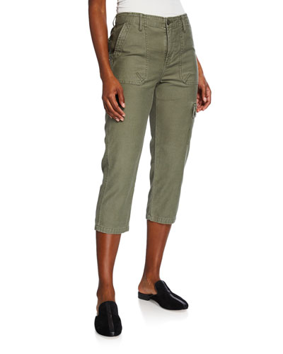 Service Cropped Cargo Pants