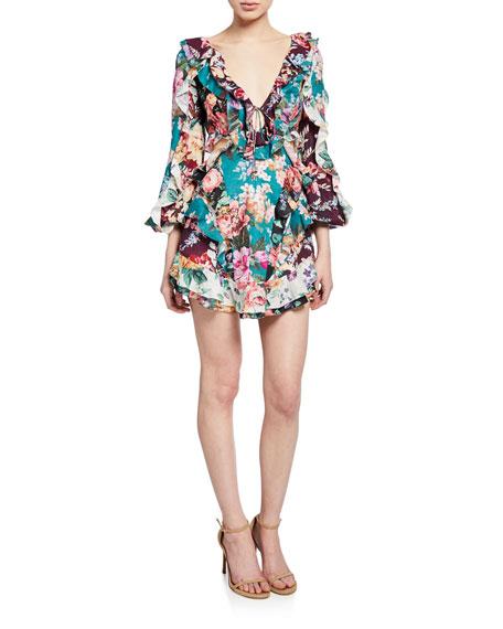 Zimmermann Dresses ALLIA SPLICED SHORT DRESS